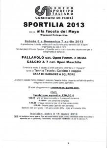 Sportilia 2013